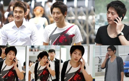 Kim Jung Hoon (Quản lí Super Junior)có thể dễ dàng khiến những ai không phải fan của nhóm tưởngnhầm anh cũng là một thành viên của nhóm.
