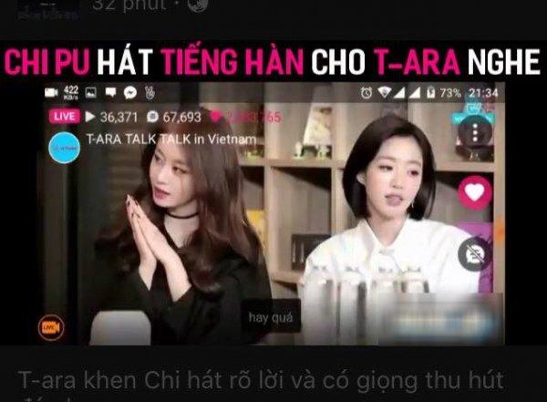 Tự tin hát tiếng Hàn trước mặt T-ara