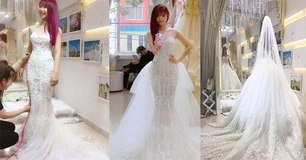 váy cưới của khởi my 1