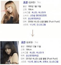 Phát hiện gây sốc của netizen Hàn: Giống như Bora, Hyorin cũng đã nói dối về ngày tháng năm sinh khi SISTAR còn hoạt động! - ảnh 3