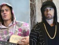 Justin Bieber khó chịu ra mặt khi thấy nhiều đồng nghiệp trẻ bị Eminem 'dằn mặt'