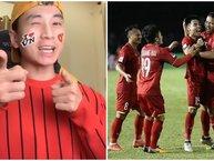 Click để xem ngay màn rap 'chất phát ngất' cổ vũ đội tuyển Việt Nam trong trận bán kết lượt về với Philippines trên sân nhà Mỹ Đình tối nay