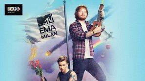 """Ed Sheeran và Ruby Rose """"đồng chủ xị"""" EMA 2015"""