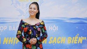 """Thu Minh hủy show để làm đại sứ chiến dịch """"Hãy làm sạch biển"""""""