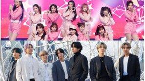 Cư dân mạng Hàn Quốc tranh cãi vì các bài hát của BTS và IZ*ONE chiếm trọn BXH Melon