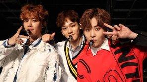 EXO-CBX debut ấn tượng tại Nhật và chiếm vị trí cao trên BXH Oricon