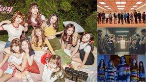 TWICE, Red Velvet, EXID, Wanna One, SEVENTEEN...: Nhóm nào có MR Removed tốt nhất tháng 11?