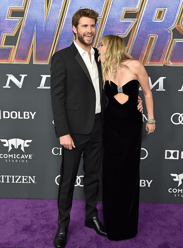 Liam Hemsworth và Miley Cyrus