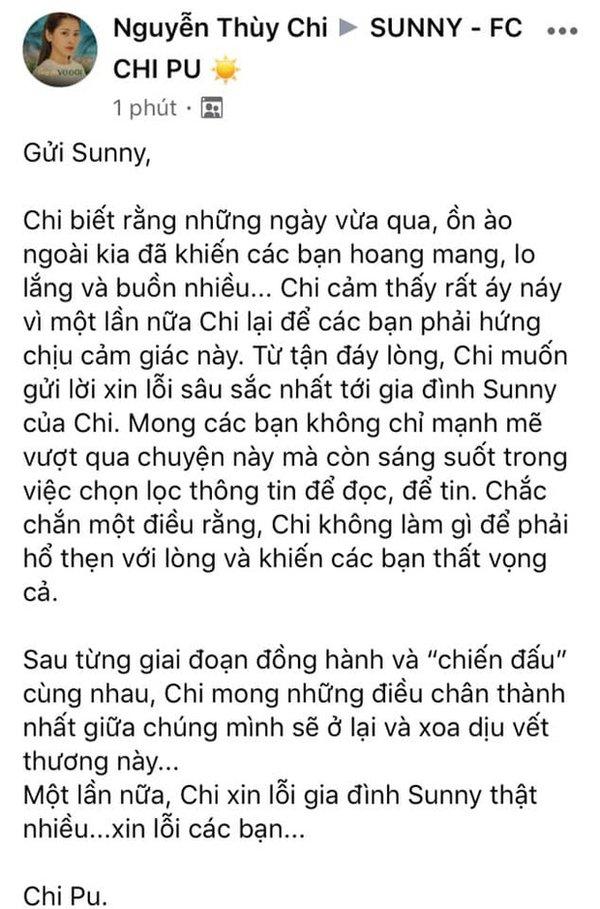 Chi Pu chính thức lên tiếng về ồn ào yêu lại tình cũ của Quỳnh Anh Shyn