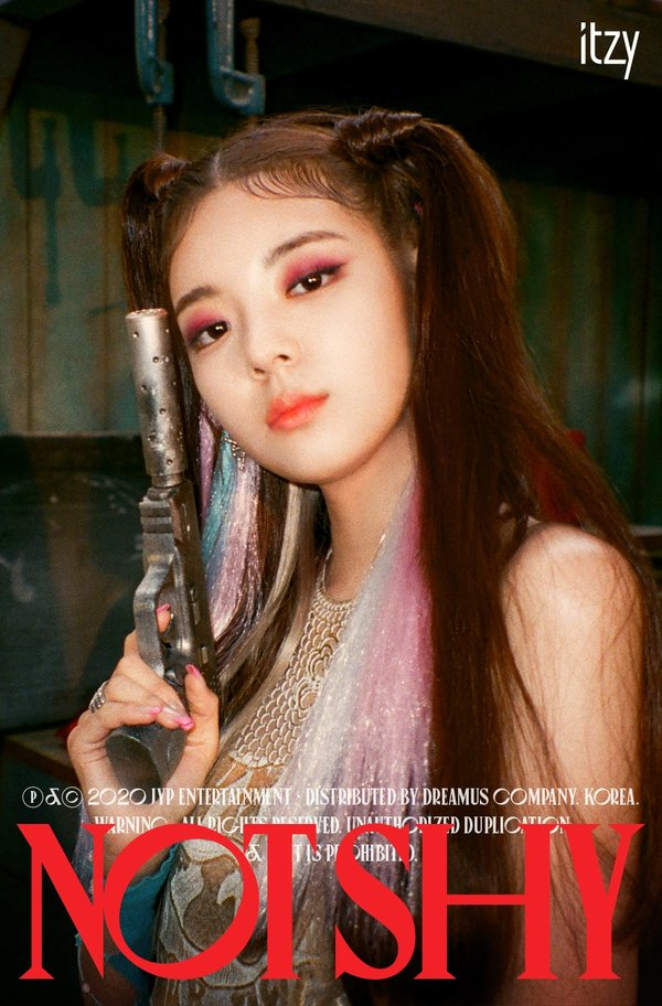 teaser Not Shy của ITZY