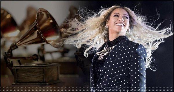 Beyoncé hiện là người phụ nữ được trao giải nhiều nhất trong lịch sử lễ trao giải Grammy