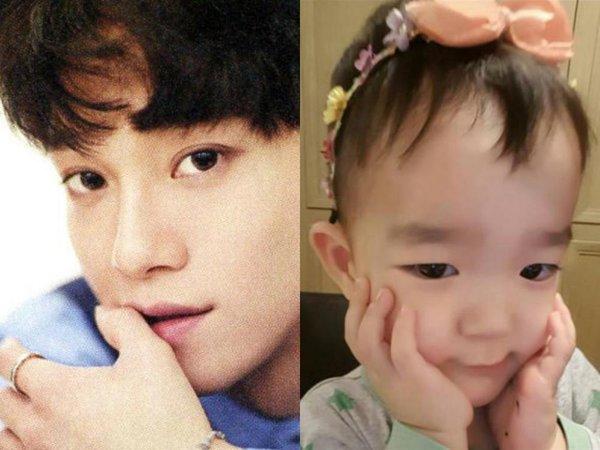 Idol Kpop và những lần biến thành các ông bố, bà mẹ