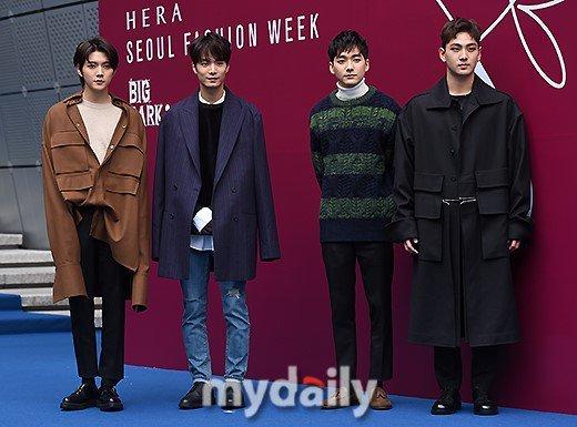 NU'EST W tuần lễ thời trang Seoul 2018