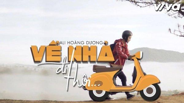 Ali Hoàng Dương ra mắt MV Về nhà đi thôi