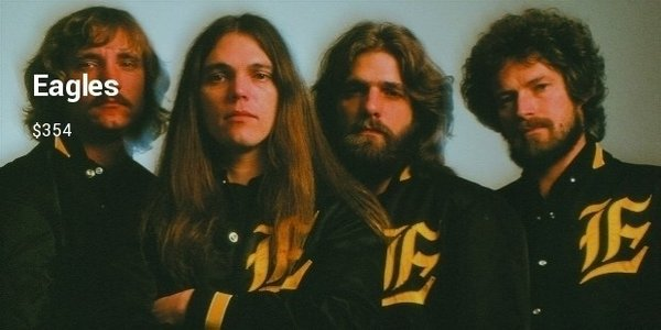 The Eagles, History of the Eagles Tour