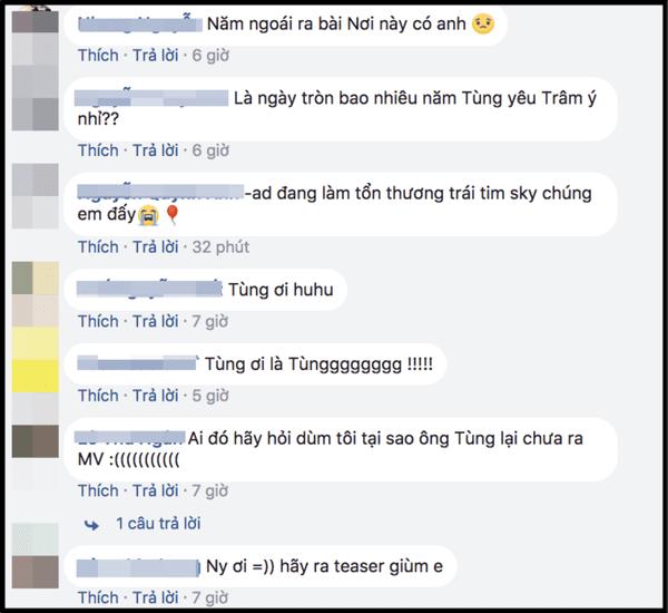 """Không có một động thái nào trấn an fan hâm mộ, Sơn Tùng vẫn """"im phăng phắc"""" kể từ thời điểm ra mắt """"Nơi này có anh"""""""