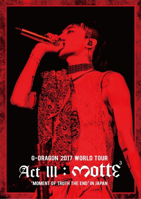 poster World Tour của G-Dragon