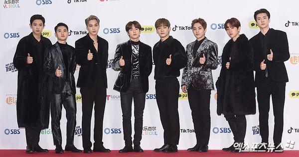 thảm đỏ SBS Gayo Daejun 2018