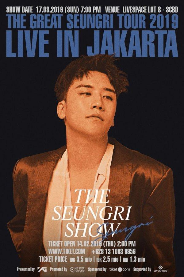 Seungri quảng bá cho concert giữa tâm bão scandal